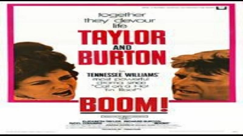 1968 Joseph Losey - La scogliera dei desideri - Elizabeth Taylor Richard Burton Romolo Valli