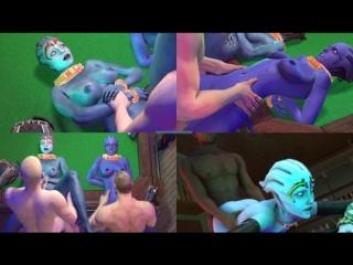 Vk.com/watchgirls rule34 mass effect asari home invasion sfm 3d porn sound 5min thedragonbomb