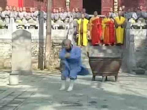 武僧 釋永智法師演示少林七星拳 ShaoLin