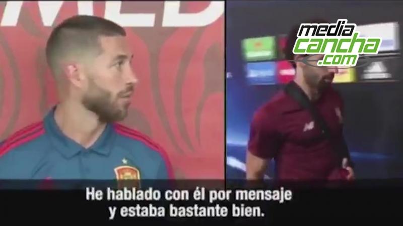 Ramos se defiende por acusaciones