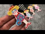 JOD  девочек милые дети DIY одежды патч Вышивка аппликация мультфильм железа на декоративных Нашивки для Костюмы Наклейки Значк