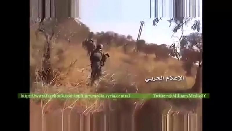 Подразделения Хезболлы совместно с КСИР(Иран)ведут наступление на окраинах Алеппо.Сирия ,октябрь 2015