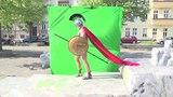 300 спартанцев. Зелёный фон и работа в After Effects (Timelapse)