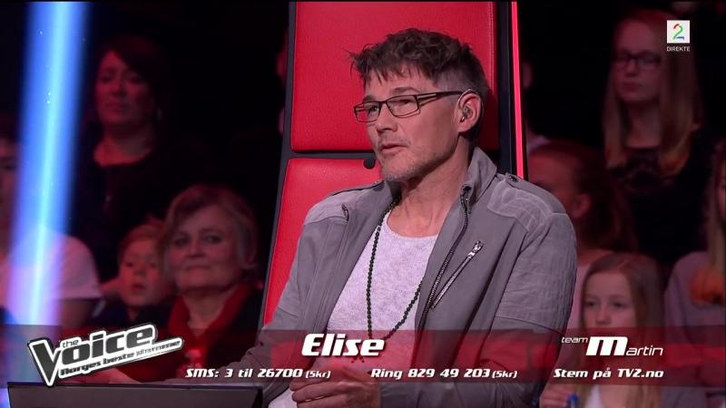 Elise Nærø - Du gråter store tåra (The Voice Norge 2017) 17.11.17
