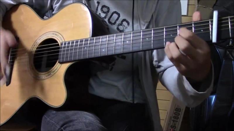 [ソロギター] ブルーバード (NARUTO OP) Ver. 2.0 [アレンジ] Blue Bird Guitar Solo Arrange Ikimono.mp4