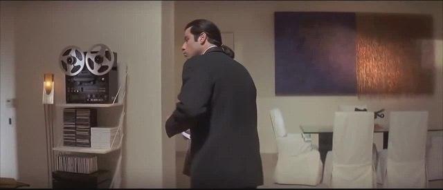 Original Confused Travolta