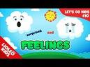 Tiếng Anh cho bé qua sách Let's Go 10: Cảm xúc - Feelings  Lioleo Kids 