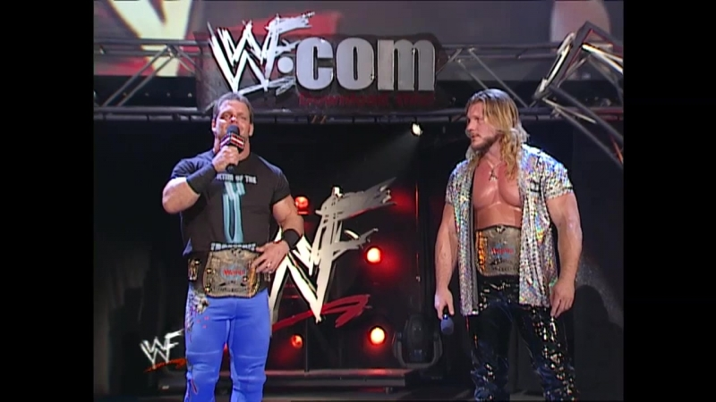 WWF Raw Is War 2001.05.28 - Chris Jericho Chris Benoit humiliate Vince McMahon
