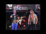 WWF Raw Is War 2001.05.28 - Chris Jericho & Chris Benoit humiliate Vince McMahon