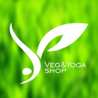 Логотип Veg&Yoga Shop / Вегетарианство и йога / Самара