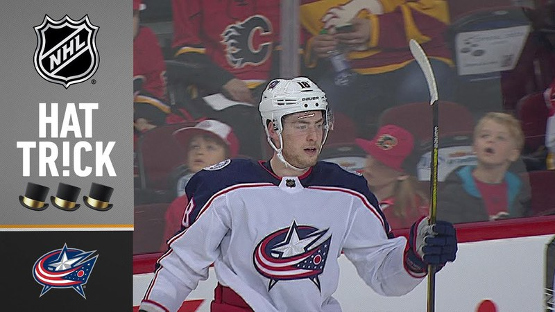 Pierre-Luc Dubois collects first hatty to set Blue Jackets record