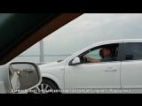 Автомобилист с Крымского моста передает горячий привет Порошенке