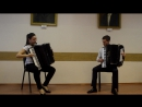 АнасМакс(Доманова Анастасия&Густокашин Максим)      Р.Гальяно-Танго для Клода