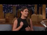 Lea Michele about Elsie Fest on Fallon Tonight