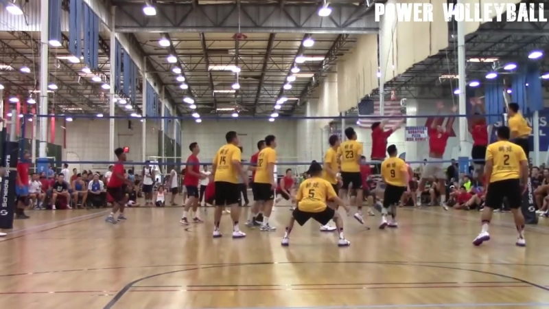 9 - MAN VOLLEYBALL ! Crazy Volleyball Actions (HD)