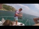 Морская прогулка Девочки в море Крым 2016
