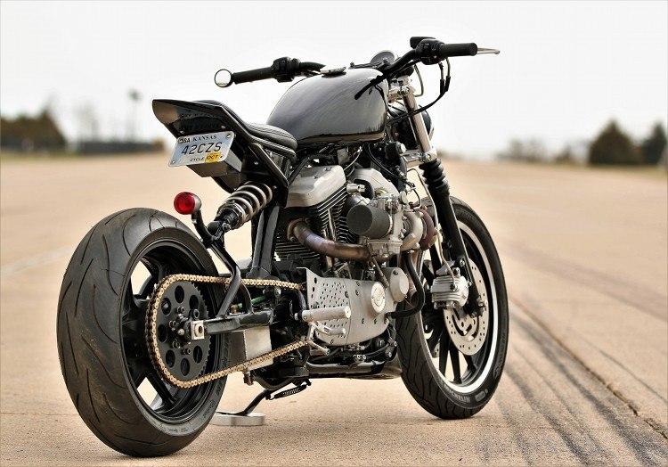 Bryce Schmidt: кафе трекер Harley-Davidson Sportster 1200R Turbo