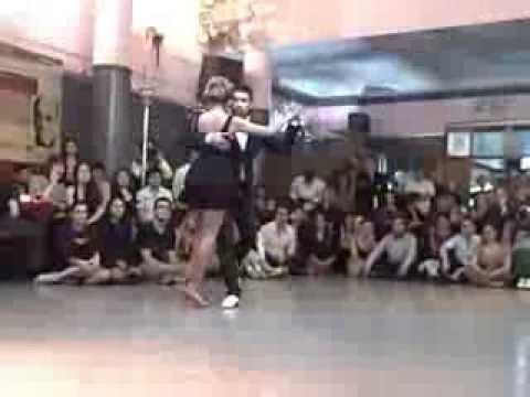 Performance at Villa Malcolm Noelia Hurtado y Octavio Fernandez @ Mujercitas Tango Festival