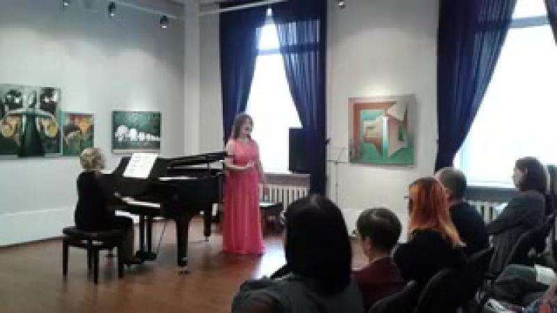 Анастасия Попова Verdi Aida Qui Radames verra O patria mia