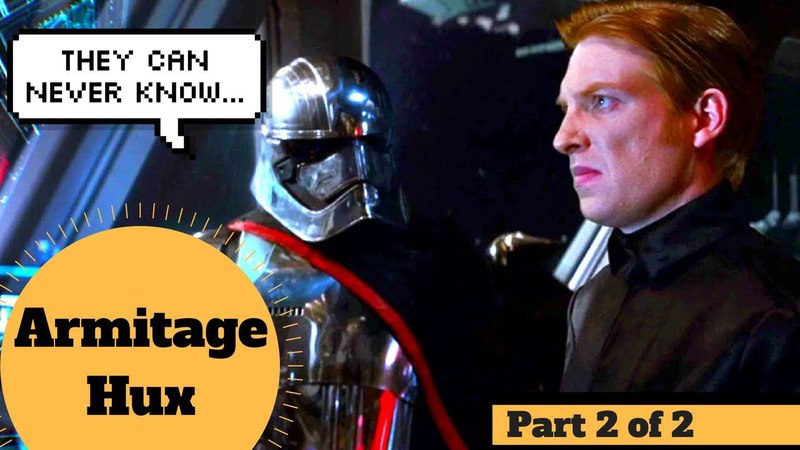 TAKEOVER by Hux and Phasma - COMPLETE LIFE OF ARMITAGE HUX Part 2 - First Order Canon Explained