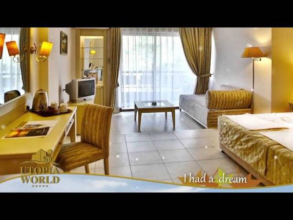 Utopia World Hotel - Alanya, Antalya | MNG Turizm