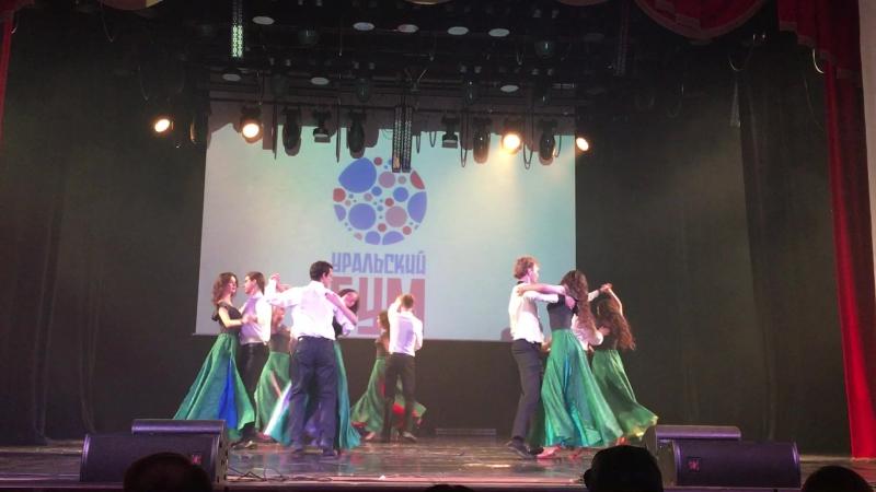 Школа танца Семь-и-восемь, танцевальная команда Сверхновая, постановка Социальные роли, Танцевальный чемпионат