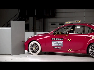 2017 Lexus IS250, IS300, IS350 Crash Test  Rating