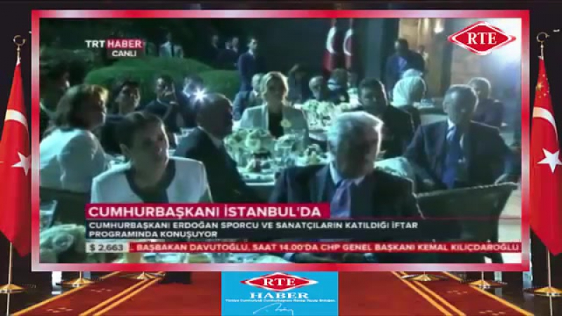 Cumhurbaşkanı Erdoğan' ın Sporcu ve Sanatçılarla İftar Programındaki Konuşması 12 07 2015 mp4