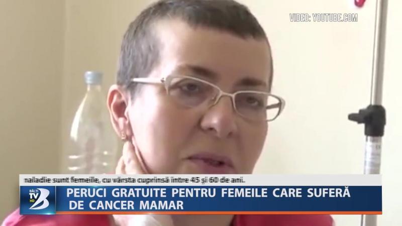 PERUCI GRATUITE PENTRU FEMEILE CARE SUFERĂ DE CANCER MAMAR