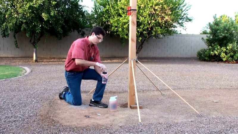 Хотите установить несколько столбов без заморочек? HILST Standart поможет.