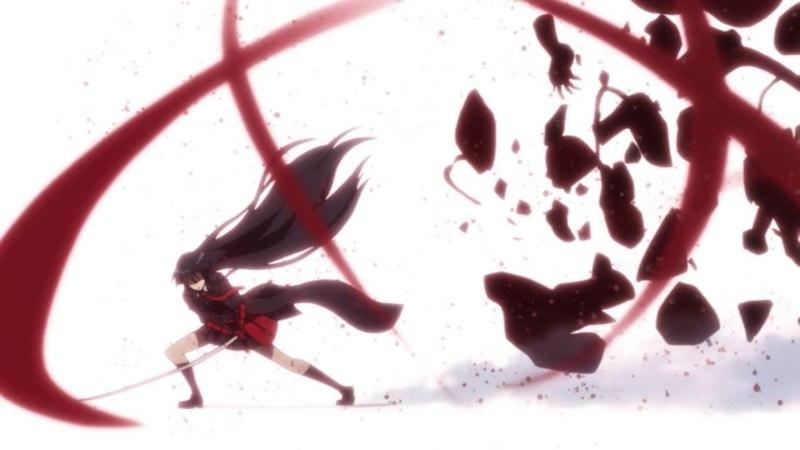 AMV Akame ga kill! - Radioactive In The Dark.