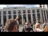 Мусора напали на легальный митинг против цензуры в интернете, за такое в Армении Украине или Грузии на следующий день вышвырнули