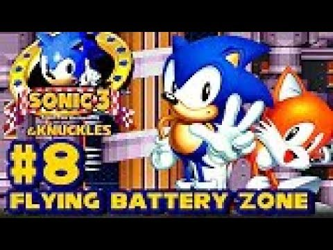 Sonic 3 Knuckles HD part 8 ► Flying Battery