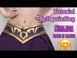 Tutorial Cosplay - Morgana Cosplay - League of Legends - Косплей - Belt painting