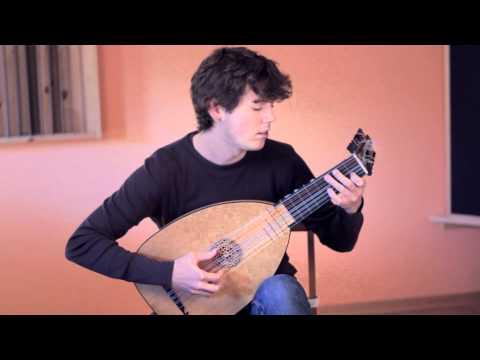 Giovanni Zamboni Romano - Sonata 6 (Giga), played by Uros Baric