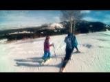 Первый раз на горных лыжах с дочкой и племянницей№