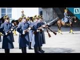 Развод караулов Президентского полка