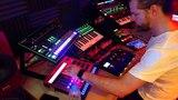 Minimal TechnoAcidElectronica Live JamImprov #2. Aira, Volca, Electribe