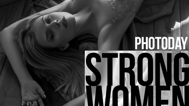 Strong women photoday backstage