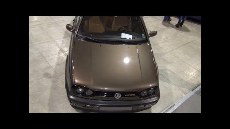 Volkswagen Golf Mk3 GTI Exterior and Interior in 3D 4K UHD