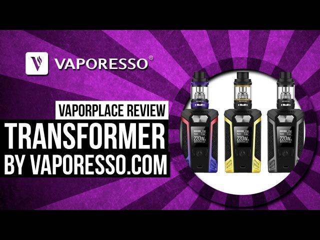 Vaporesso Transformer Kit | vaporesso.com | Vaporplace review
