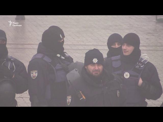 У парку Шевченка мітингували прихильники партії «Рух нових сил»