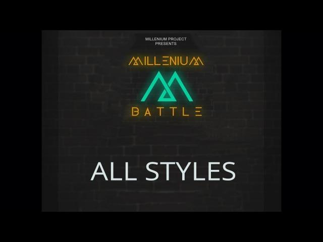 Battle M ¦ ALL STYLES ¦ Oma Hustla vs Lil Kes (win)
