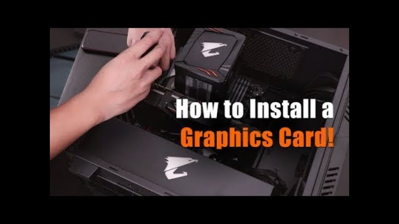 [AORUS 101] How to Install a Graphics Card