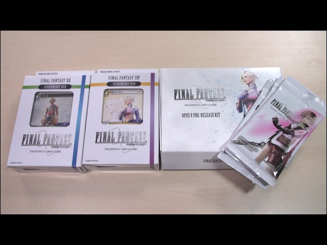 OPENING Final Fantasy TCG Booster Packs and More!
