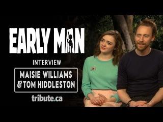 Maisie Williams & Tom Hiddleston - Early Man Interview