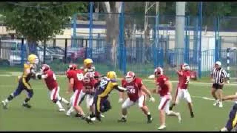 Минские Зубры vs СК Медведи 24.08.2013