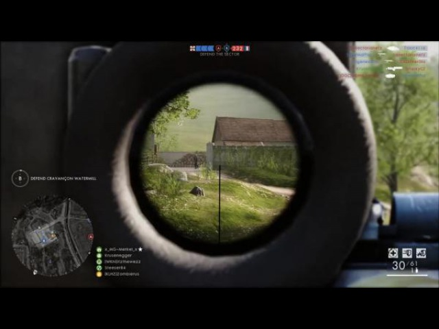 Снайперские пулемёты - M1917 MG и M1909 Bent-Merci | BATTLEFIELD 1