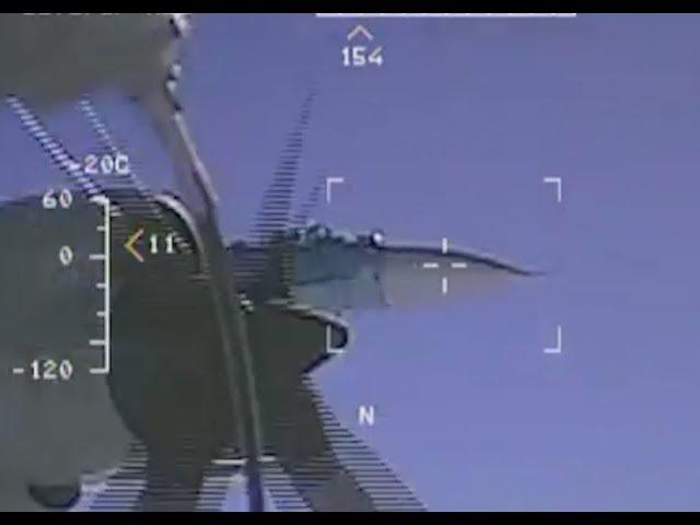 Russian Su-27 Intercepts U.S. Navy EP-3 Aries
