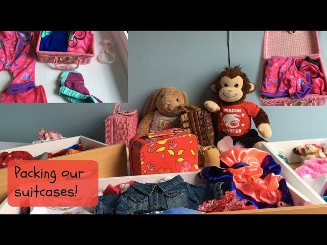 Kayla and Mylo pack for their vacation
